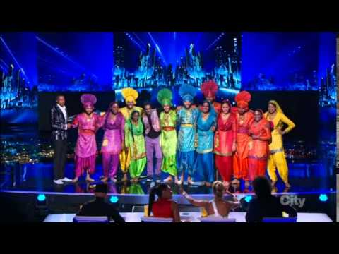America's Got Talent 2014 Quarterfinal 3 Cornell Bhangra