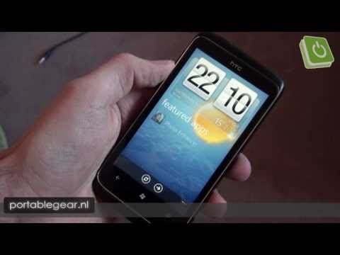 HTC 7 Trophy hands-on