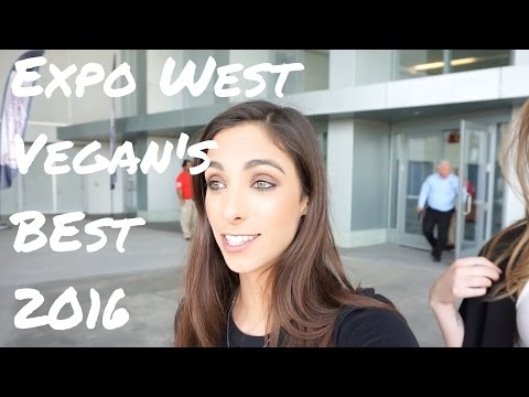 Expo West Vegan's Best 2016 // [3,000 vendors + 77,000 people + good food]