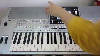 Воспроизведение midi-файлов с USB-накопителя на синтезаторах Yamaha