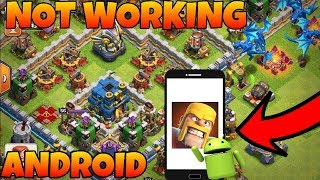 ANDROID PHONE CLASH OF CLANS NOT WORKING!(HINDI)SAM1735