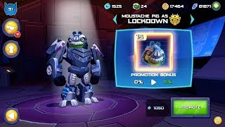Angry Birds Transformers halloween - Lockoown - ultra magnus, Unlocked new upgrade Gameplay # 05