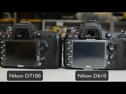 NIKON D7100 VS D610-WHICH TO BUY?