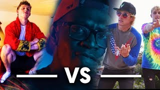 WHO has the best diss tracks UK or USA!! Reacting to Jake Paul, Log...