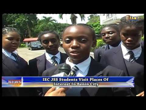IEC students visit Palace of Benin Monarch on excursion