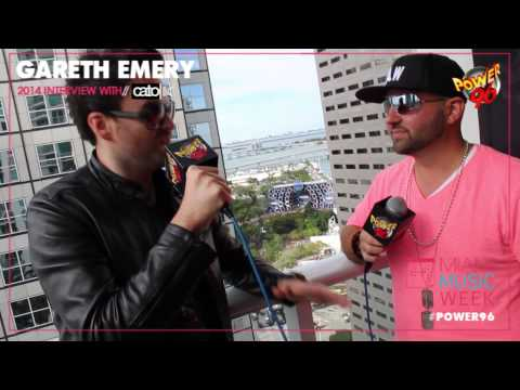Miami Music Week 2014 - Gareth Emery [EXCLUSIVE VIDEO INTERVIEW]