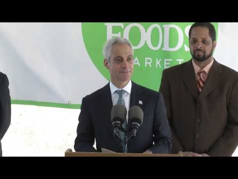 Whole Foods Market and Mayor Emanuel Announce New Distribution Center in Pullman Neighborhood