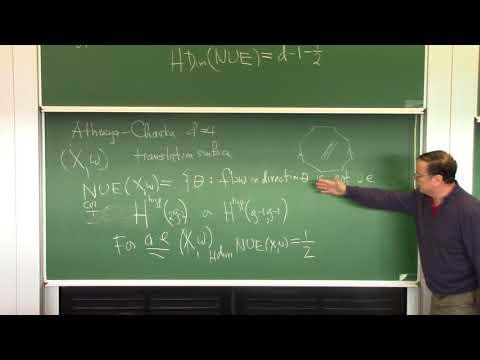 Howard Masur (Chicago) - Hausdorff dimension of the set of non uniquely ergodic interval exchange