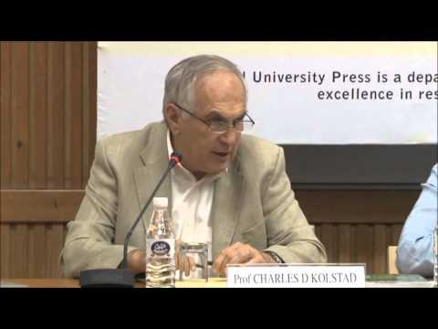 OUP INDIA Presents: 6.1 The Ethics and Economics of Climate Change Policy by Prof Charles Kolstad