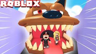 ESCAPING BEFORE MAD DOG 🐶! (Roblox Obby) | Vito vs Bella