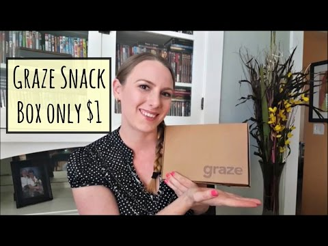Get a Free Graze Box + Review (use my code listed below)