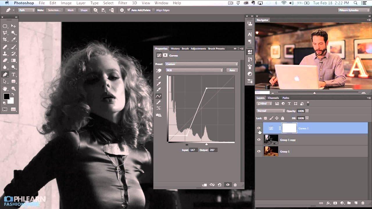 How to Create a Black & White Image in Photoshop (Part 2)