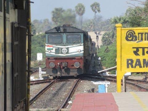 Rameshwaram Chennai Full Journey: Palk Strait And WDP3A