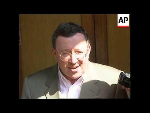 RUSSIA: MEDIA TYCOON VLADIMIR GUSINSKY