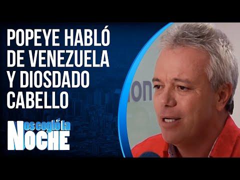 """""""Popeye"""" vuelve y arremete contra Diosdado Cabello"""