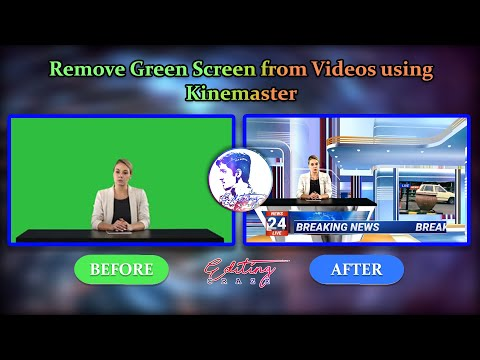 How to make your own News Room Studio with Kinemaster - Editing Craze