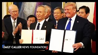 Trump Signs Historic Trade Deal With China