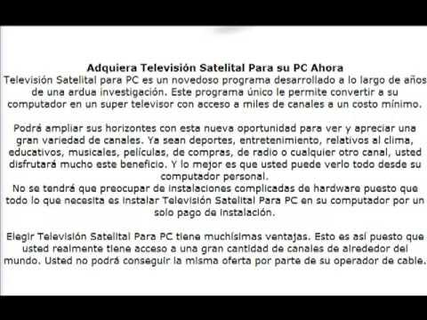 Vea television por internet