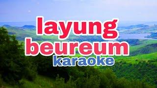 Layung beureum karaoke
