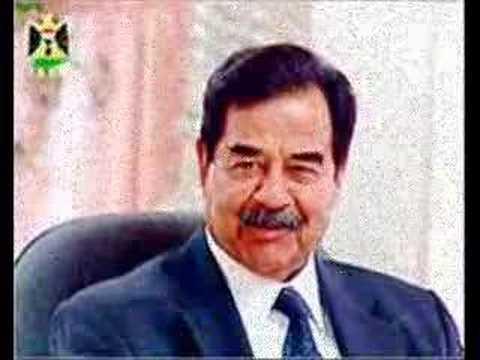 President Saddam Hussain