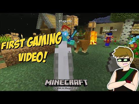 Minecraft EP1: Epic fail on task (tagalog)