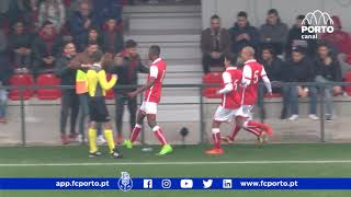 Formação: Sub 19 - SC Braga-FC Porto, 2-1 (CNJA, 20.ª jornada)