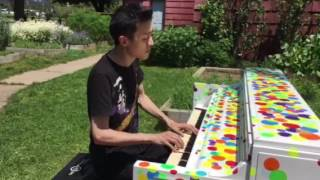 """Christopher Norton - Eastern Prelude No. 1 """"Arirang"""" (2017 Sing for Hope Piano)"""