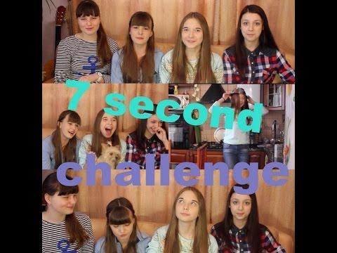 7 seconds challenge+BLOOPERS~Sonya Lollipop^^