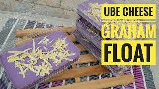 Ube Cheese Graham Float | Ice Box cake (easy dessert)