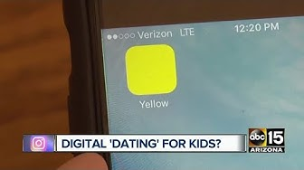 """Yellow: New app is the """"Tinder for teens"""" ages 12 and up"""