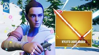 *NEW* LIGHTSABER Gameplay! - Star Wars Event in Fortnite! (Fortnite Battle Royale LIVE)