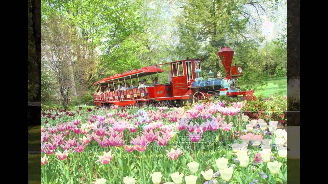 The Best Garden Trains You Can Ride 2015 - YouTube