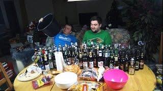Психанули и купили 150 бутылок пива!