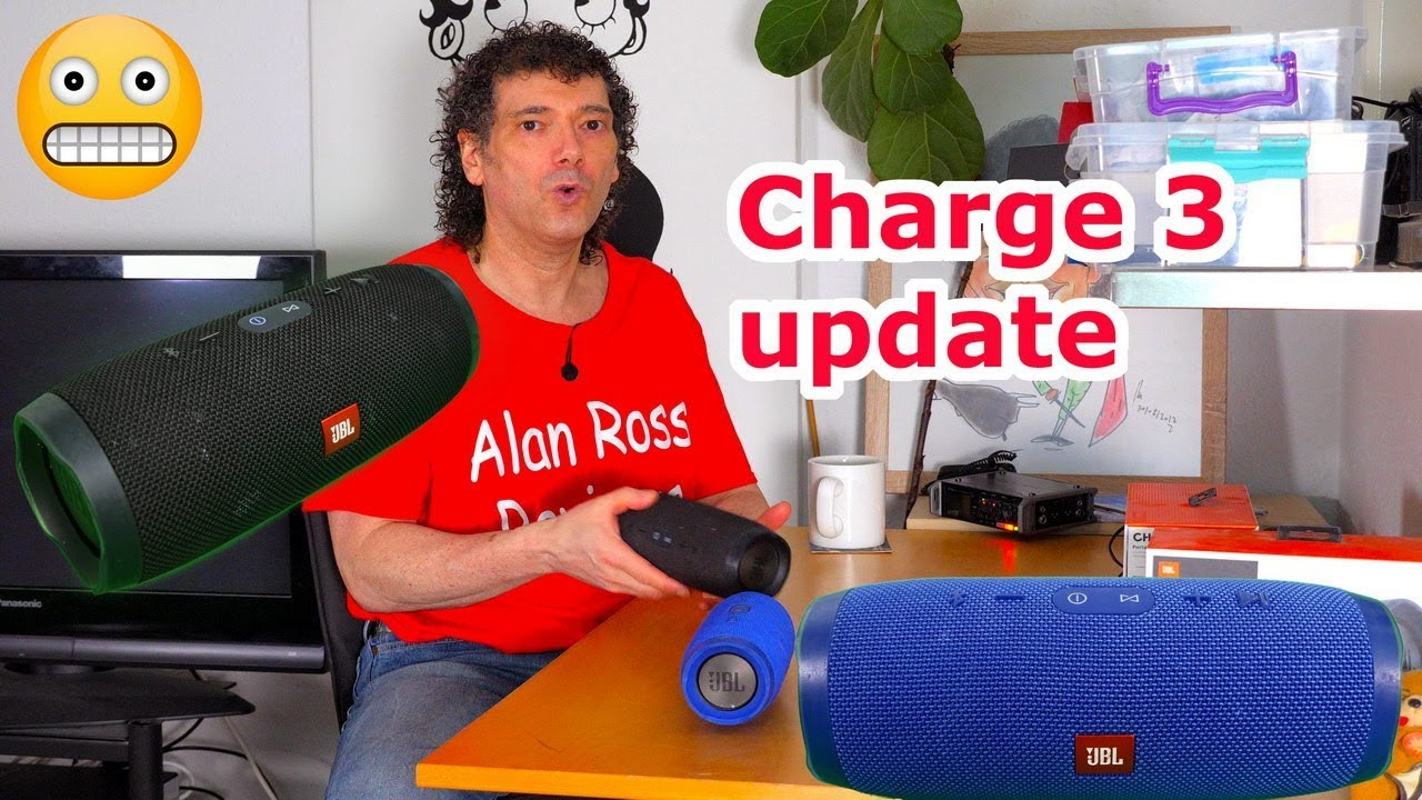 JBL Charge 3 firmware update - 7 3 to 7 6 - sound tests
