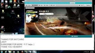 Installing Tom Clancys HAWX 2 Skidrow 100% (new crack) WORKING Proper (HD).mp4