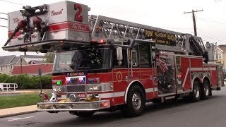 Download Video Point Pleasant Beach Fire Department Tower Ladder 4305 Responding 5-14-18 MP3 3GP MP4