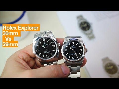 Which Rolex Explorer - 36mm Or 39mm?