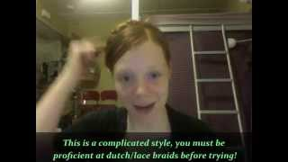 Yulia Tymoshenko Crown Braid Hairstyle Tutorial