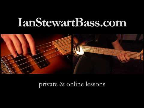 Latin Bass Guitar Lessons - Cuban Timba & More - Ian Stewart