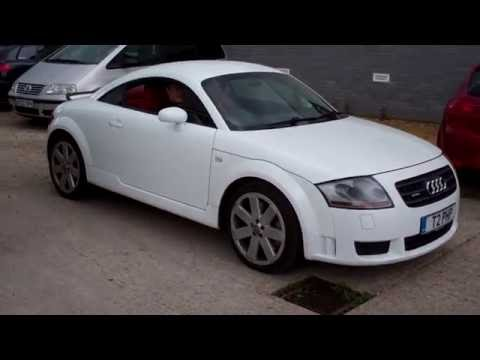 2004 white audi tt mk1 3 2 dsg after service from quattro tech youtube. Black Bedroom Furniture Sets. Home Design Ideas