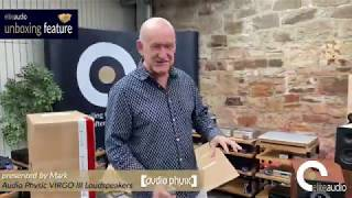 Unboxing Feature - Audio Physic VIRGO III Loudspeakers
