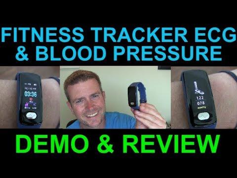 ecg-blood-pressure-fitness-health-tracker-step-counter-sleep-monitor-ekg-zeerkeer-watch-review-demo