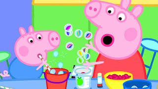 Peppa Pig Official Channel | Peppa Pig Makes Music Instrument with Marbles