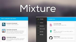 Mixture, la mejor herramienta para diseñadores web