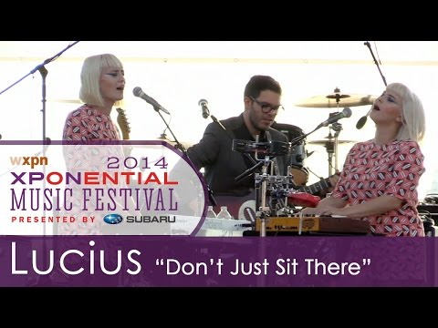 """Lucius - """"Don't Just Sit There"""" (XPoNential Music Festival 2014)"""