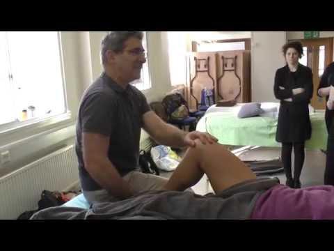 lower limb anterior massage techniques