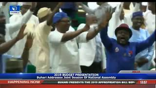 President Buhari Presents 2019 Appropriation Bill To NASS Pt.5 |Live Event|