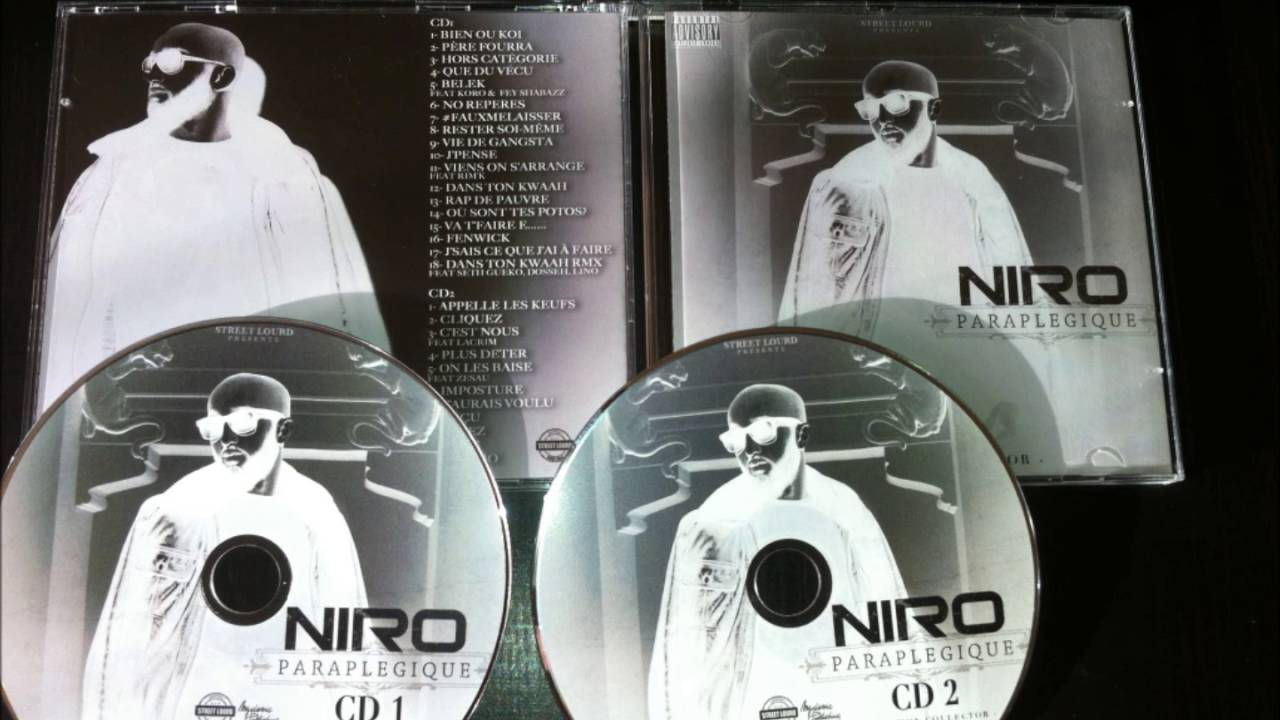 album niro paraplegique reedition