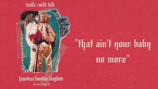 Walls Could Talk - Halsey (Instrumental / Karaoke) w/ Background Vocals