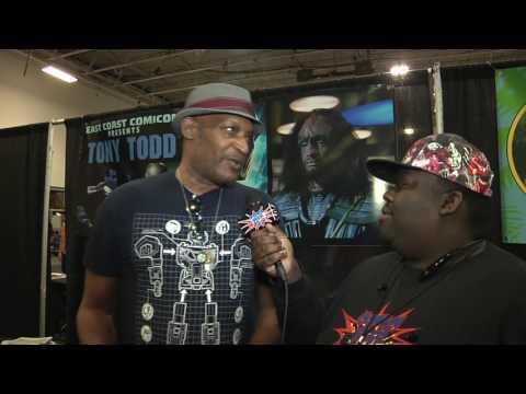 Tony Todd Interview   East Coast Comicon 2017   Comics, Beer & Sci-fi